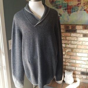 Mens Warehouse Joseph Abboud 2XLT Gray NWT Sweater